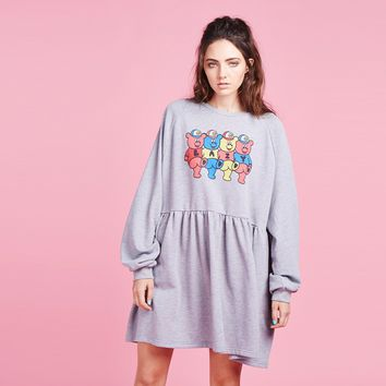 Lazy Oaf Teddy Sweater Dress