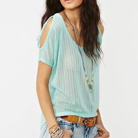 Open Shoulder Knit  in  Clothes Tops Shirts + Blouses at Nasty Gal