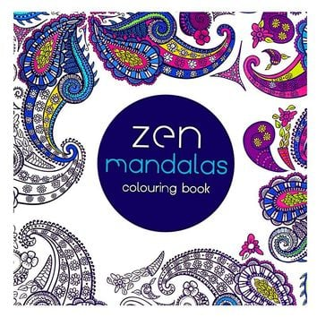 1 Pcs 24 Pages Mandalas Free Coloring Books For Adult Children G
