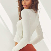 Out From Under Taylor Cozy Mock Neck Top   Urban Outfitters
