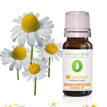 Chamomile essential oil- French- 100% Pure Chamomile oil- Ayurvedic essential oil- therapeutic Roman Chamomile- Aromatherapy Undiluted oil