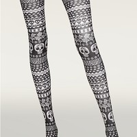Sugar Skulls Tights | Socks & Legwear | rue21