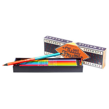Tutti Frutti Colored Boxed Pencils