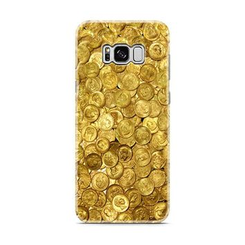 Gold Coin Old Samsung Galaxy S8 | Galaxy S8 Plus Case