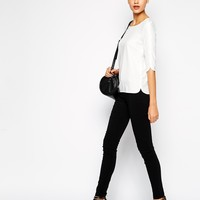 New Look Tall Zip Detail Slim Leg Trouser