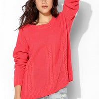 Love Madly Mixed-Stitch Sweater - Urban Outfitters
