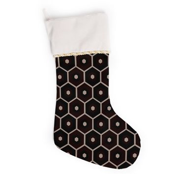 "Budi Kwan ""Tiled Mono"" Christmas Stocking"