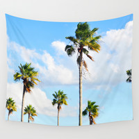 North Beach Palms 2 - Wall Tapestry
