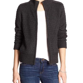 Banana Republic Womens Factory Moto Sweater Cardigan