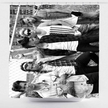 1D One Direction For Custom Shower Curtain *