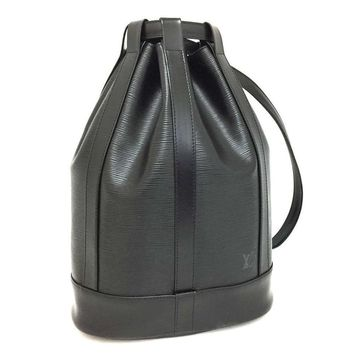 Louis Vuitton Randonnee Black LIKE NEW Backpack 5690 (Authentic Pre-owned)