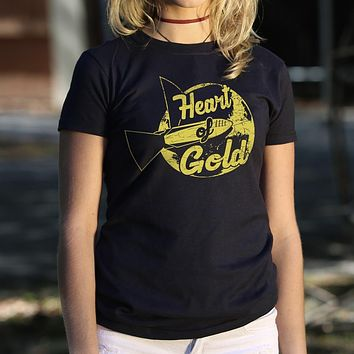 Heart of Gold [Hitchhikers Guide to the Galaxy] Women's T-Shirt