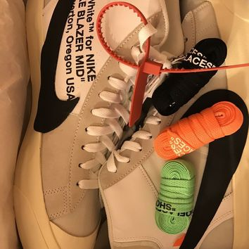 "Nike x Off-White Blazer Mid ""The Ten"" Sz13 100% Authentic DS Virgil Abloh Yeezy"