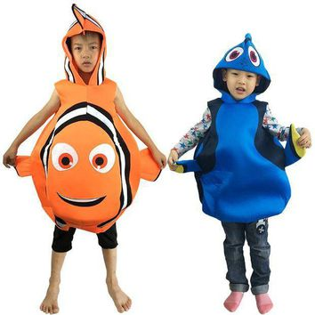 PEAPON Halloween Child Adult Performance Cosplay Finding Nemo Doris Clothes Nimo fish Clownfish Party Cosplay Costumes