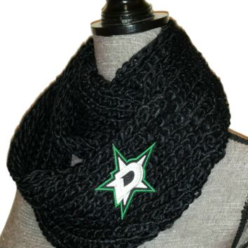 Dallas Stars Knit Cowl