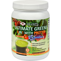 Olympian Labs Ultimate Greens Protein 8 In 1 With Hemp Protein Vanilla Banana Berry - 1.3 Lbs