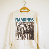 Ramones Shirt Punk Rock Shirt Punk Shirt Rock Sweater Sweatshirt Jumpers Long Sleeve Shirt Women TShirt Men TShirt Unisex TShirt Size S,M,L