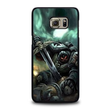 warhammer black templar samsung galaxy s6 edge plus case cover  number 1