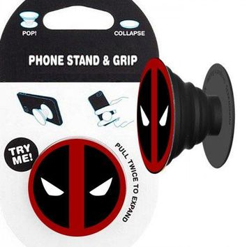 Deadpool Emblem Phone Stand & Grip