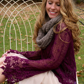 Happily Ever After Top: Plum