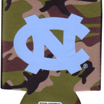 university of north carolina - koozie pocket camo 12 dp Case of 144