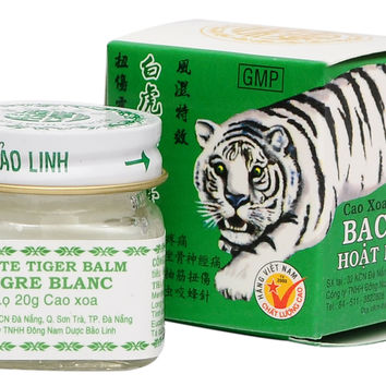 Vietnam 20g white tiger balm for Headache, Muscular Pains