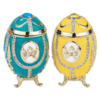 Park Avenue Collection S/2 Russian Imperial Eggs