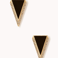 Art Deco Triangle Studs