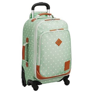 Northfield Mint Dot Carry-On Spinner