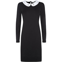 Paul by Paul Smith Contrast Collar Knitted Dress | Harrods