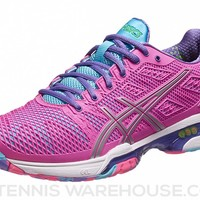Asics Gel Solution Speed 2 Pink/Blue Women's Shoes