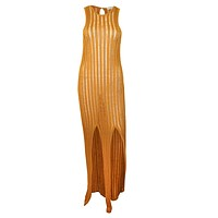 Cabo Ribbed Sleeveless Dress