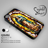 Our Lady Of Guadalupe - iPhone 4/4s/5 Case - Samsung Galaxy S3/S4 Case - Black or White