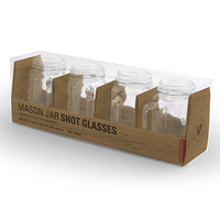 Mason Jar Shot Glasses | Shot Glass Set
