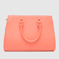 Set In Stone Purse - Coral - One