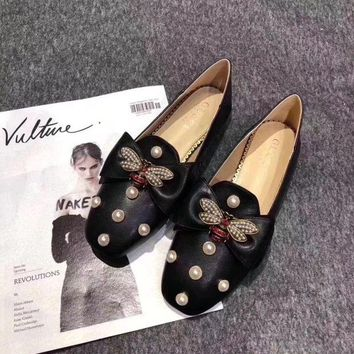 DCCKDV3 Gucci flat shoes