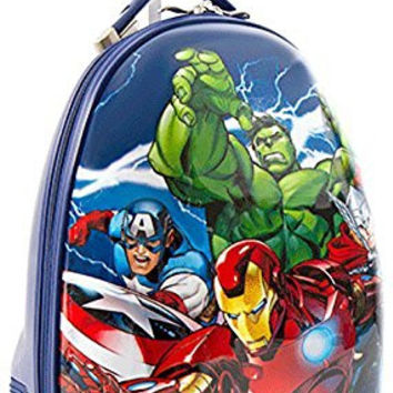 Heys America Unisex Marvel Avengers Kids Luggage Blue Carry On
