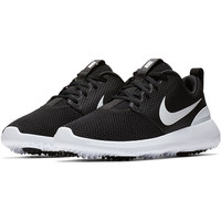Nike Ladies Roshe G Golf Shoes - Black/White (Medium Width)