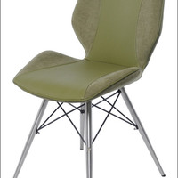 Montana KD Chair Brushed Stainless Steel Legs, Cactus