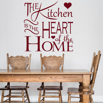 Vinyl Wall Decal Kitchen Quote Home Decoration Decor Interior Stickers Unique Gift (ig4762)