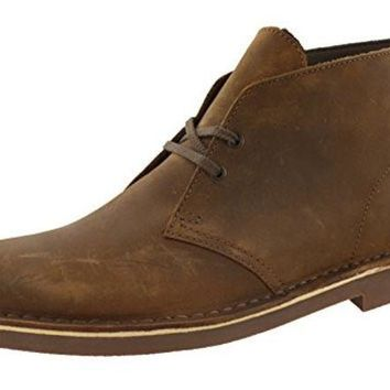 DCCK8BW Clarks Men's Bushacre 2 Desert Boot,Beeswax Leather,10 M US