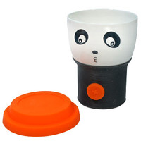 Orange Panda Face Mug with Rubber Top | AsianFoodGrocer.com, Shirataki Noodles, Miso Soup