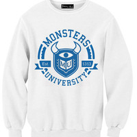 Monster University Sweatshirt | Yotta Kilo