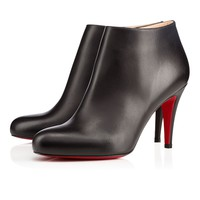 Christian Louboutin Cl Belle Black Leather Ankle Boots 3140504bk01 - Best Online Sale