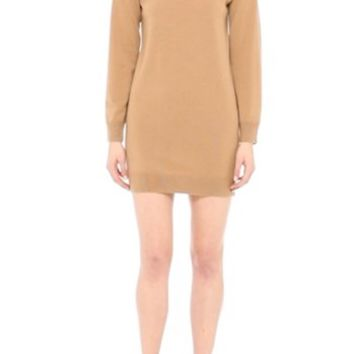 Burberry Alewater Elbow Patch Merino Wool Dress   Nordstrom