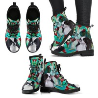 Valentine's Day Special-Japanese Chin Dog Print Boots For Women-Free Shipping