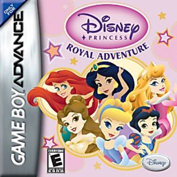 Disney Princess Royal Adventure Nintendo Game Boy Advance