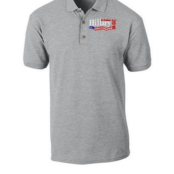 HILLARY 2016 embroidery - Polo Shirt