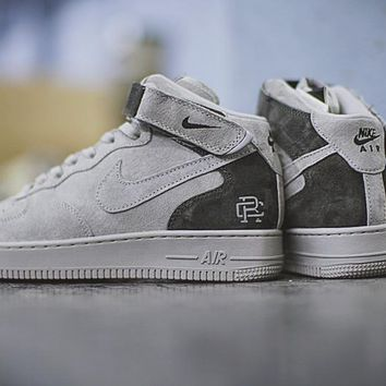 reigning champ x nike air force 1 mid 07 807618 200