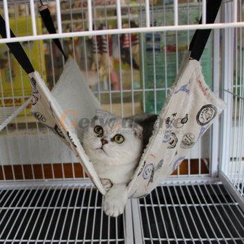 Pet Rat Rabbit /Ferret Chinchilla/Cat Comforter Hanging Hammock Bed Cover Bag